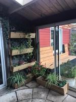 jardinières mélèze